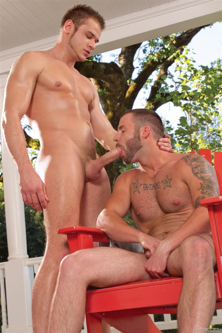Falcon Studios Chris Bines and Nikko Russo Muscle Hunks Sucking Big Uncut Cocks Cum Amateur Gay Porn 11 Amateur Muscle Jocks Sucking On Big Uncut Cock
