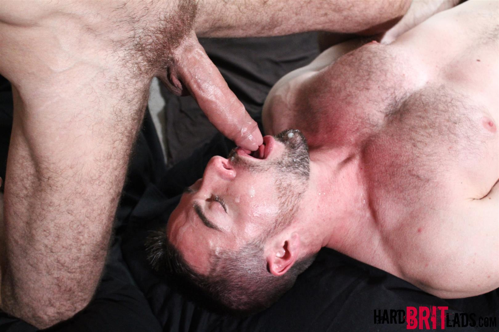 Brandon moore shoves big cock down his throat 10