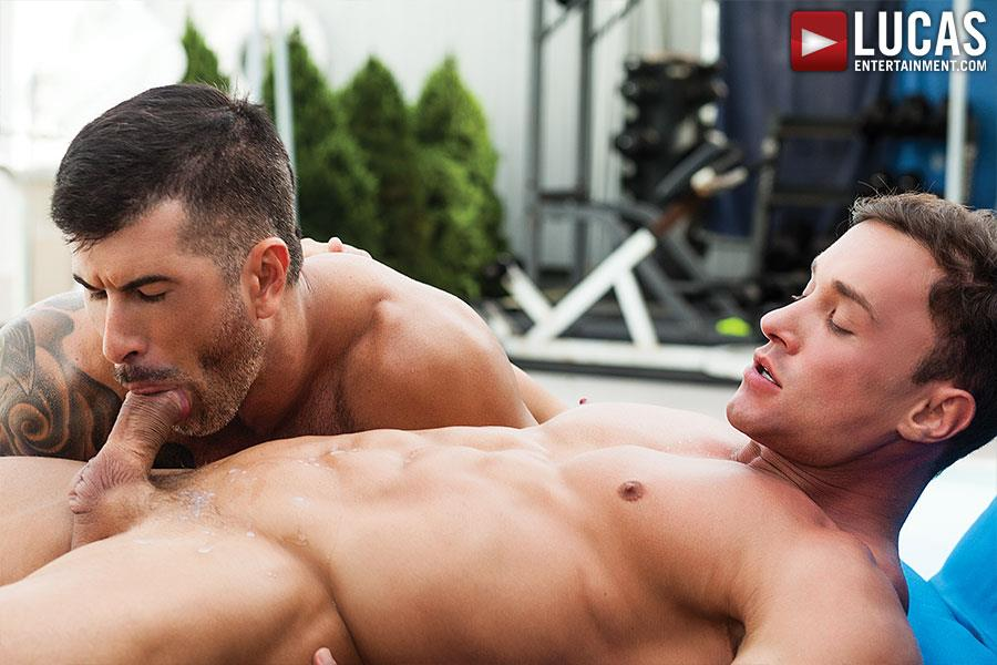 Lucas Entertainment Alexander Volkov and Adam Killian Muscule Bareback Fuck Amateur Gay Porn 09 Adam Killian Barebacking A Muscle Hunk With A Juicy Ass