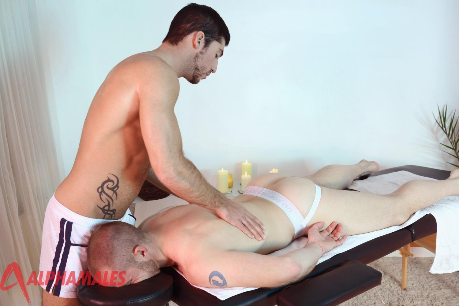 AlphaMales-Leo-Domenico-and-Adam-Herst-Jocks-With-Big-Uncut-Cocks-01 Jocks With Big Uncut Cocks Fucking During A Massage